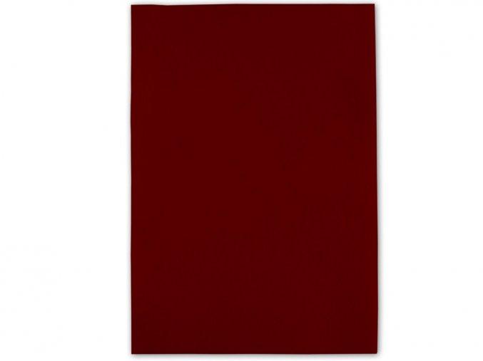 Folia 520422 Dekorační filc/plst Folia - 20 x 30 cm - tmavě červená