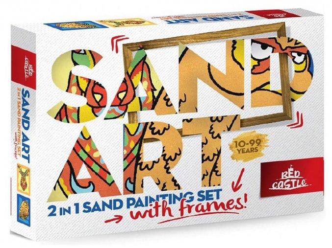 Red Castle 35300-01 Pískování obrázků SAND ART
