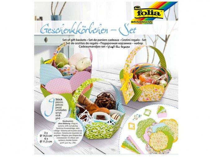 Folia 975 - Set na výrobu dárkových košíčků
