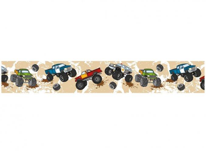Ursus 5909/24 - Washi Tape - dekorační lepicí páska - Monster truck