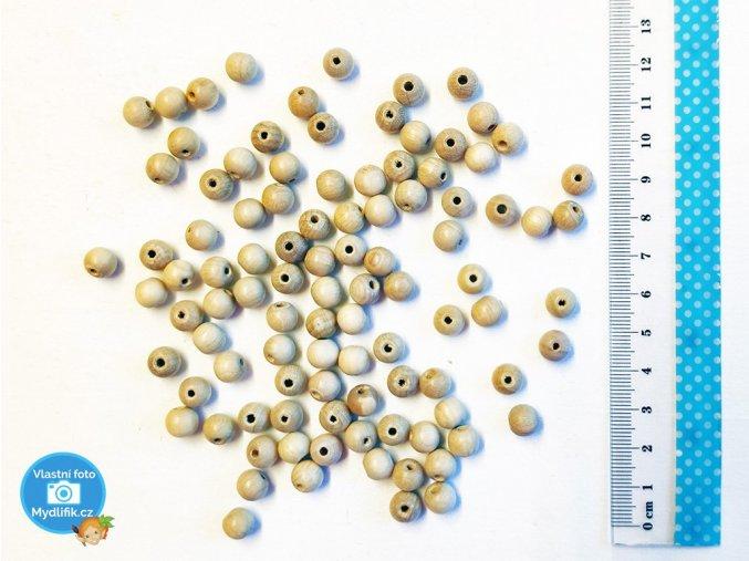 BD Tova V000480- dřevěné korálky 8 mm, 100 ks