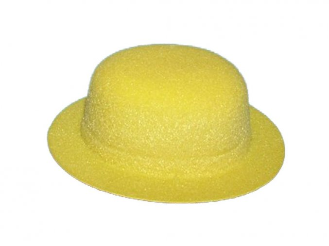 BD Tova V000263 -  klobouček plastový dekorační žlutý