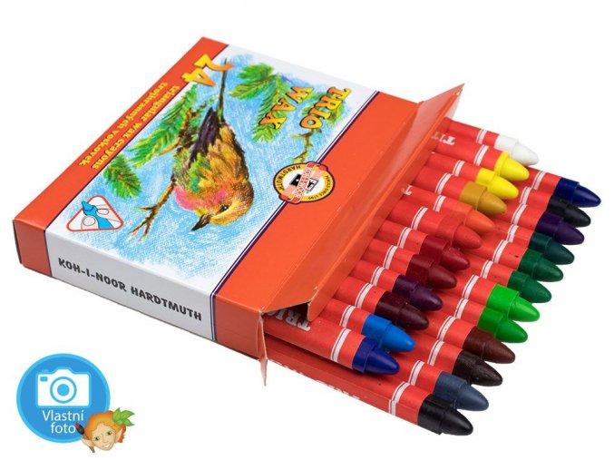 TRIO WAX 8274 - 24 barev KIN