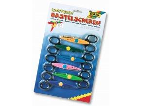 Folia Konturovací nůžky - sada 6-ti kusů