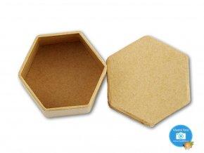 Folia 3323 - Krabička papírová natur k dozdobení
