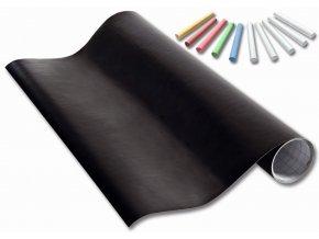 Samolepící tabulová folie - role 45 x 200 cm + 10 kříd