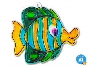 Závěsná šablona pro barvy na sklo - ryba