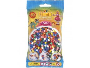 207-00 zažehlovací HAMA korálky mix barev