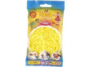zažehlovací HAMA korálky H207-43, pastelově žluté