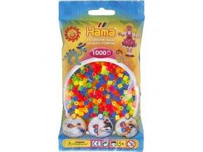 zažehlovací HAMA korálky H207-51, neonový mix