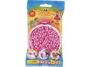 zažehlovací HAMA korálky H207-48, pastelově růžové