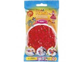 207-05 zažehlovací HAMA korálky červené