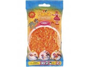 zažehlovací HAMA korálky H207-38, neonové oranžové