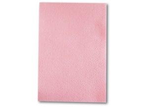 Dekorační filc/plst - 20 x 30 cm - světle růžový