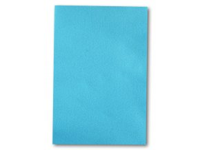Dekorační filc/plst - 20 x 30 cm - světle modrý