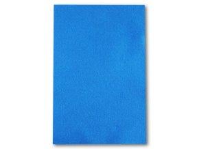 Dekorační filc 20x30 cm - královsky modrá