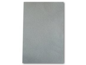 Dekorační filc/plst - 20 x 30 cm - světle šedý