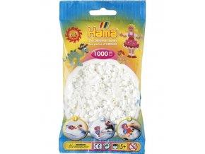 207-01 zažehlovací HAMA korálky bílé
