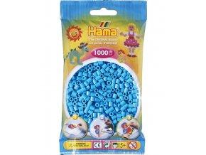 207-46 zažehlovací HAMA korálky, pastelově modré