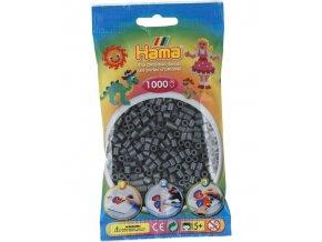 zažehlovací korálky HAMA H207 71, tmavě šedé