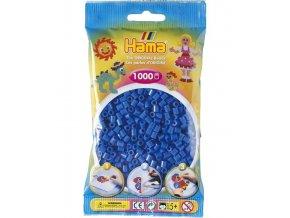207-09 zažehlovací HAMA korálky modré