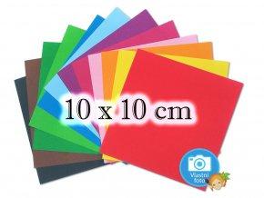 Folia 9100 Origami papír - 10 x 10 cm, 12 pastelových barev, nabízí www.mydlifik.cz
