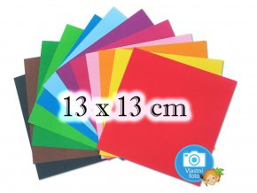 Folia 9105 Origami papír - 13 x 13 cm, 12 pastelových barev, nabízí www.mydlifik.cz