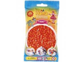 207-04 zažehlovací HAMA korálky oranžové