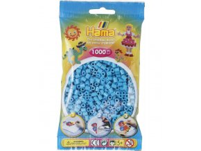 zažehlovací HAMA korálky H207-49, azurově modré
