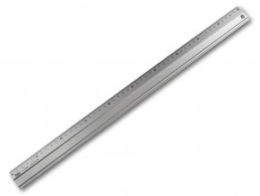 Kvalitní kovové pravítko - 50 cm