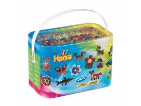 H202-68 zažehlovací korálky HAMA v krabici - 10 000 ks