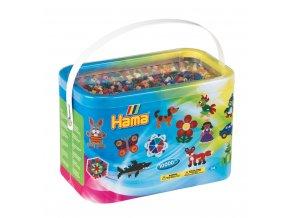 H202-67 zažehlovací korálky HAMA v krabici - 10 000 ks