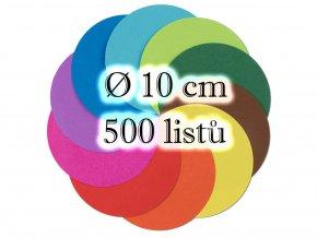 Folia 8960 - Kulate origami papiry na skládání - průměr 10 cm, prodava Mydlifik.cz