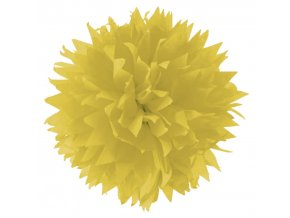 Folia - Hedvábný papír 50 x 70 cm, ŽLUTÝ