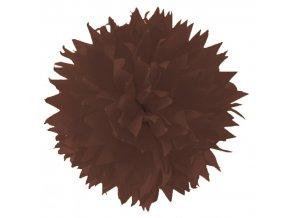 Folia - Hedvábný papír 50 x 70 cm, HNĚDÝ