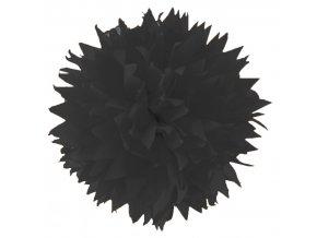 Folia - Hedvábný papír 50 x 70 cm, ČERNÝ