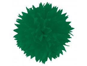 Folia - Hedvábný papír 50 x 70 cm, TMAVĚ ZELENÝ