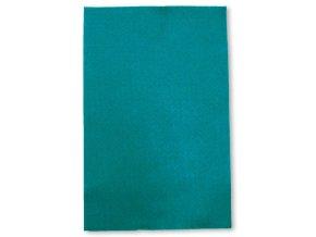 Dekorační filc/plst - 20 x 30 cm - tyrkysový