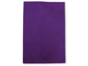 Dekorační filc/plst - 20 x 30 cm - fialový