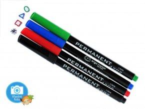 Souprava permanentních popisovačů Koh-i-noor - 4202 - 4 barvy