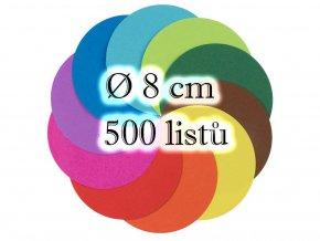 Folia 8958/0 - Kulate origami papiry Ø 8 cm, nabízí Mydlifík.cz