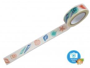 Folia 26074 - Washi Tape - dekorační lepicí páska - Mušle