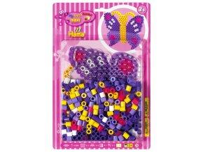 HAMA MAXI 8908 - zažehlovací korálky - set Motýl