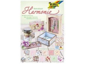 Folia 47449 - Blok papírů s motivem Harmonie