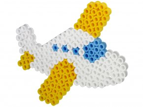 Hama 8216 - podložka pro zažehlovací korálky Maxi - LETADLO
