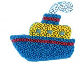 Hama 8212 - podložka pro zažehlovací korálky Maxi - LOĎ