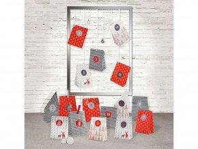 Folia 9395 - Adventní kalendář - Papírové sáčky Style - 29 kusů