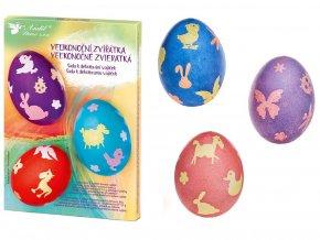 Anděl Přerov 7714 - Sada k dekorování vajíček - velikonoční zvířátka
