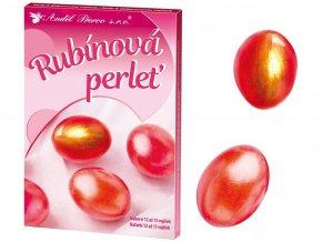 Anděl Přerov 7716 - Sada k dekorování vajíček - Rubínová perleť