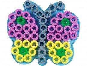 Hama 8225 - podložka pro zažehlovací korálky Maxi - MOTÝLEK